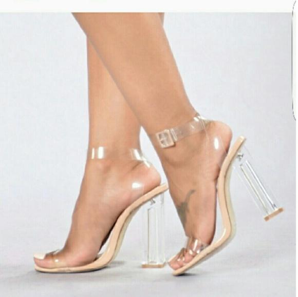 Lolashoetique Shoes - Cinderella clear heels
